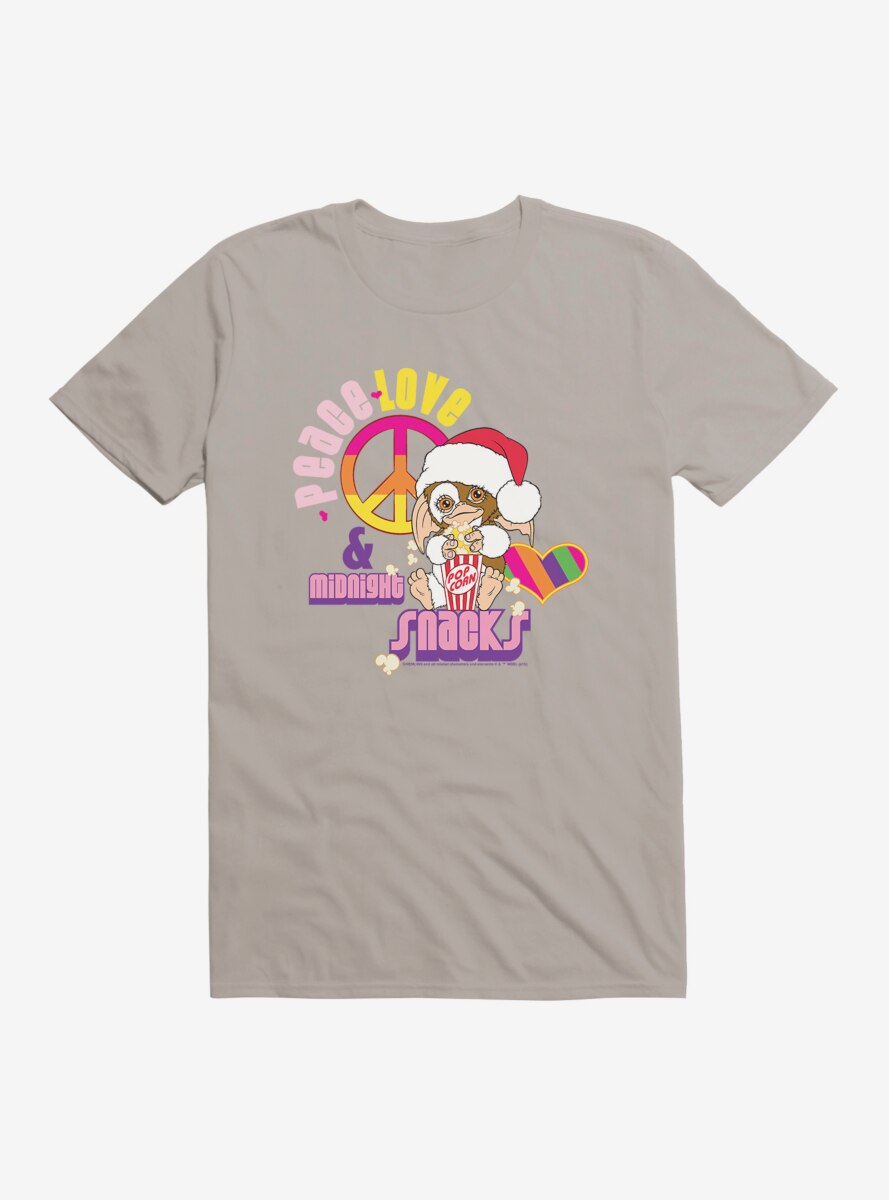 Gremlins Gizmo Peace and Love T-Shirt