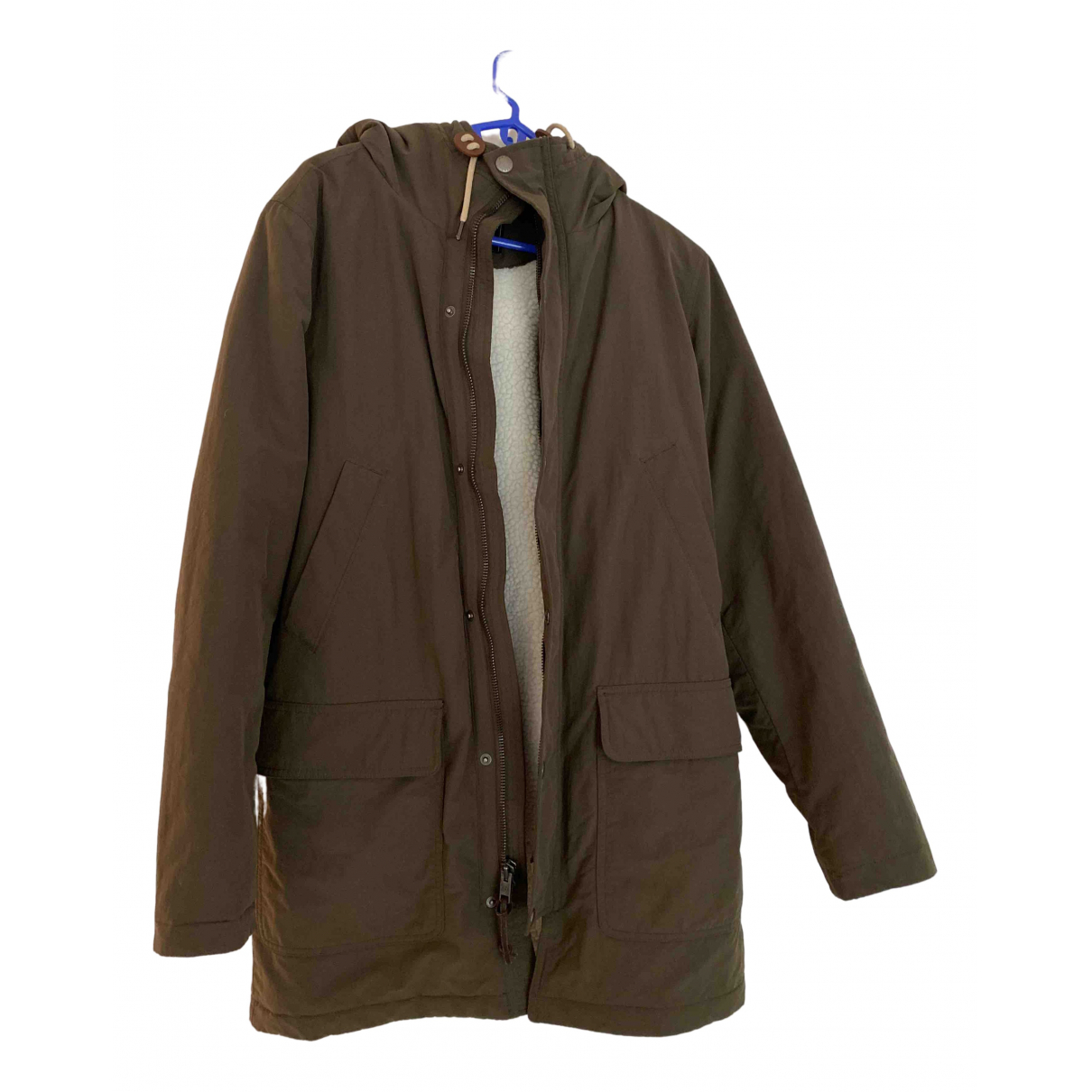 Abercrombie & Fitch - Manteau   pour homme - kaki