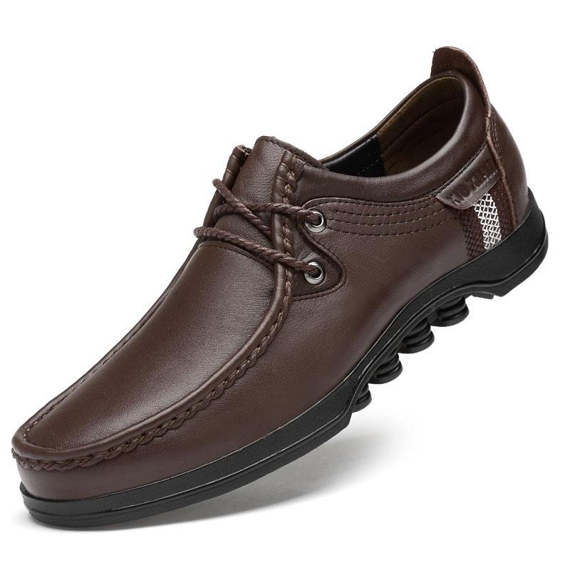 Ericdress Plain Round Toe Low-Cut Upper Men's Work Shoes