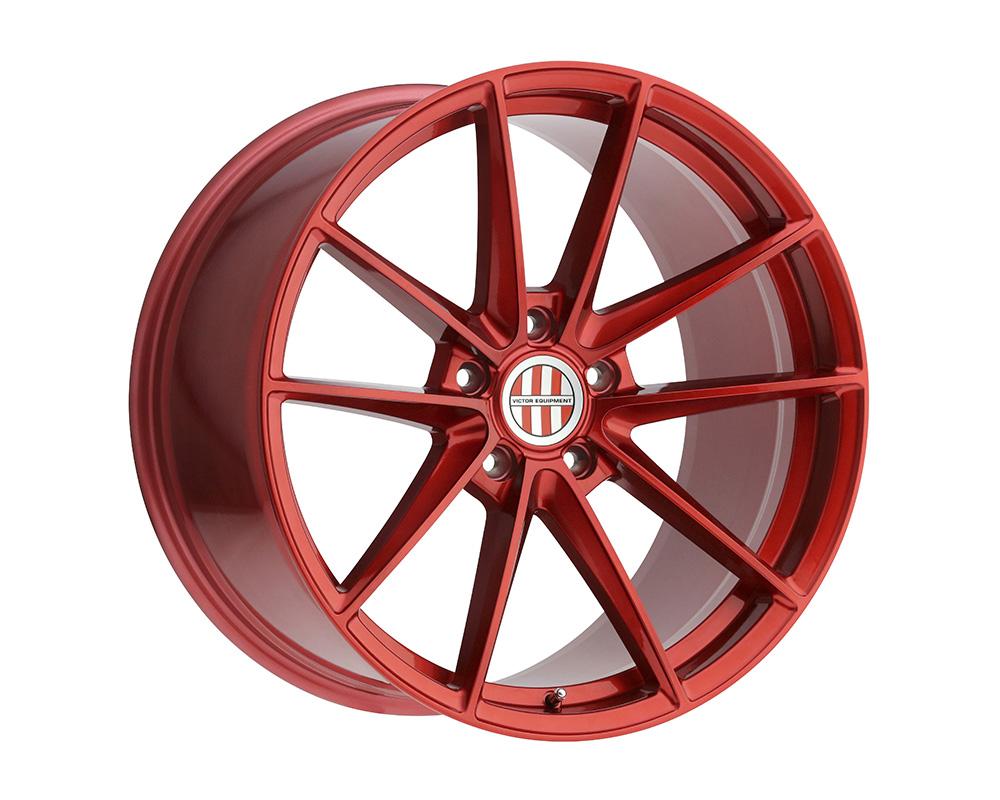Victor Equipment 2105VZF565130R71 Zuffen Wheel 21x10.5 5x130 56mm Candy Red