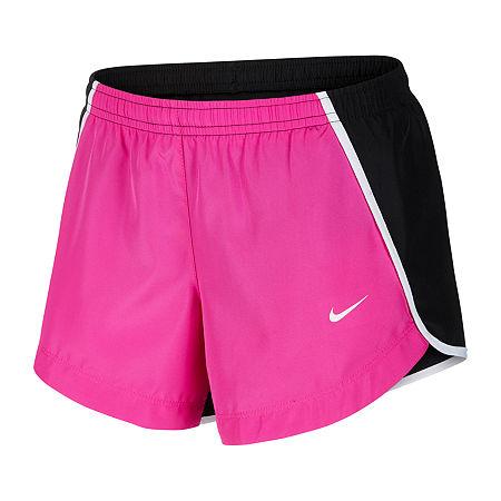 Nike Big Girls Running Short, X-large , Red