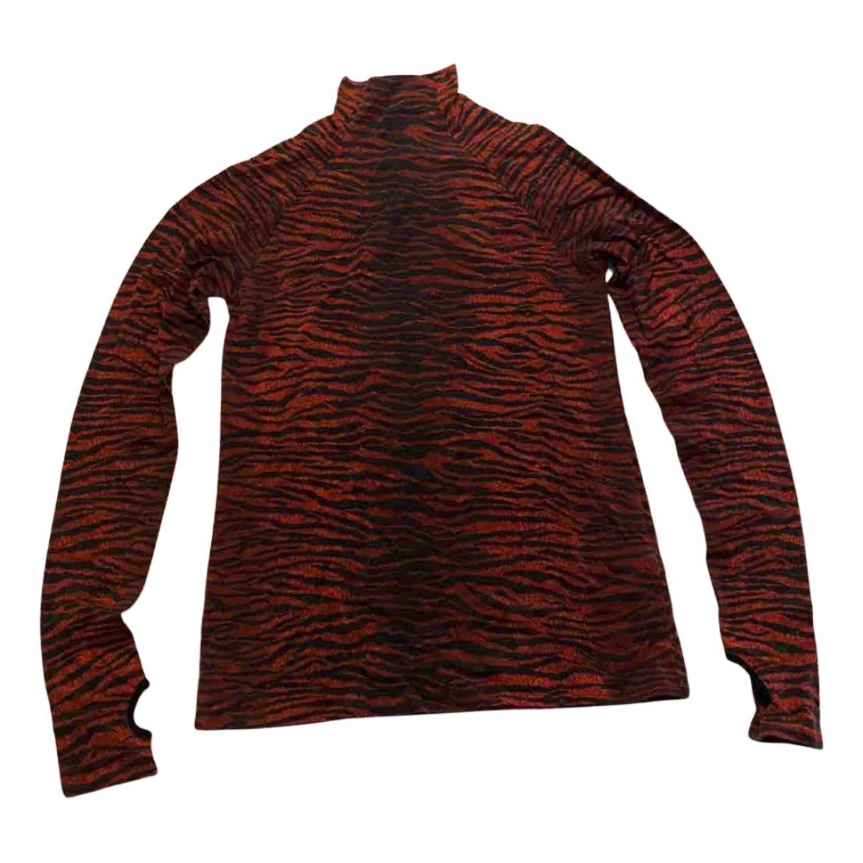 Kenzo X H&m - Top   pour femme en laine - rouge