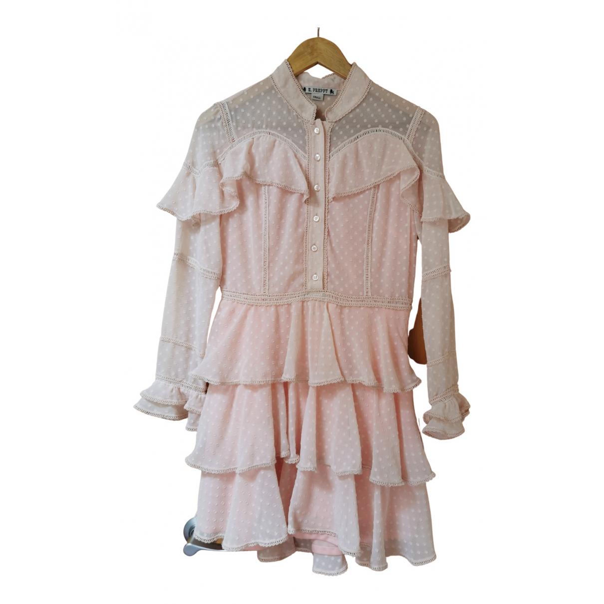 Mini vestido Highly Preppy