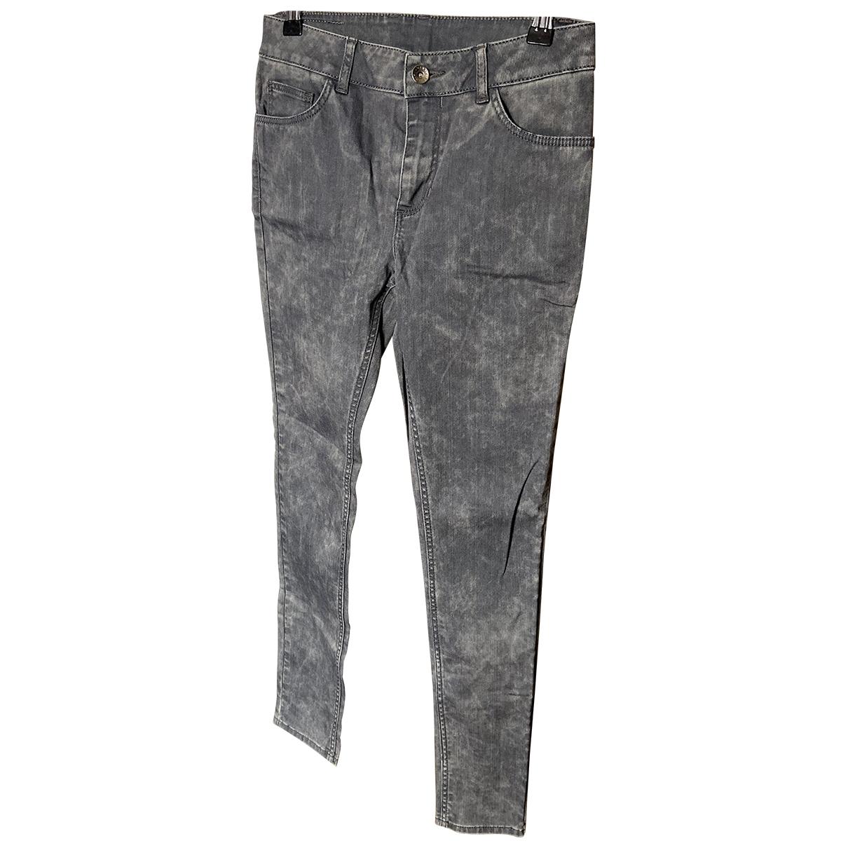 Claudie Pierlot \N Grey Jeans for Women 36 FR