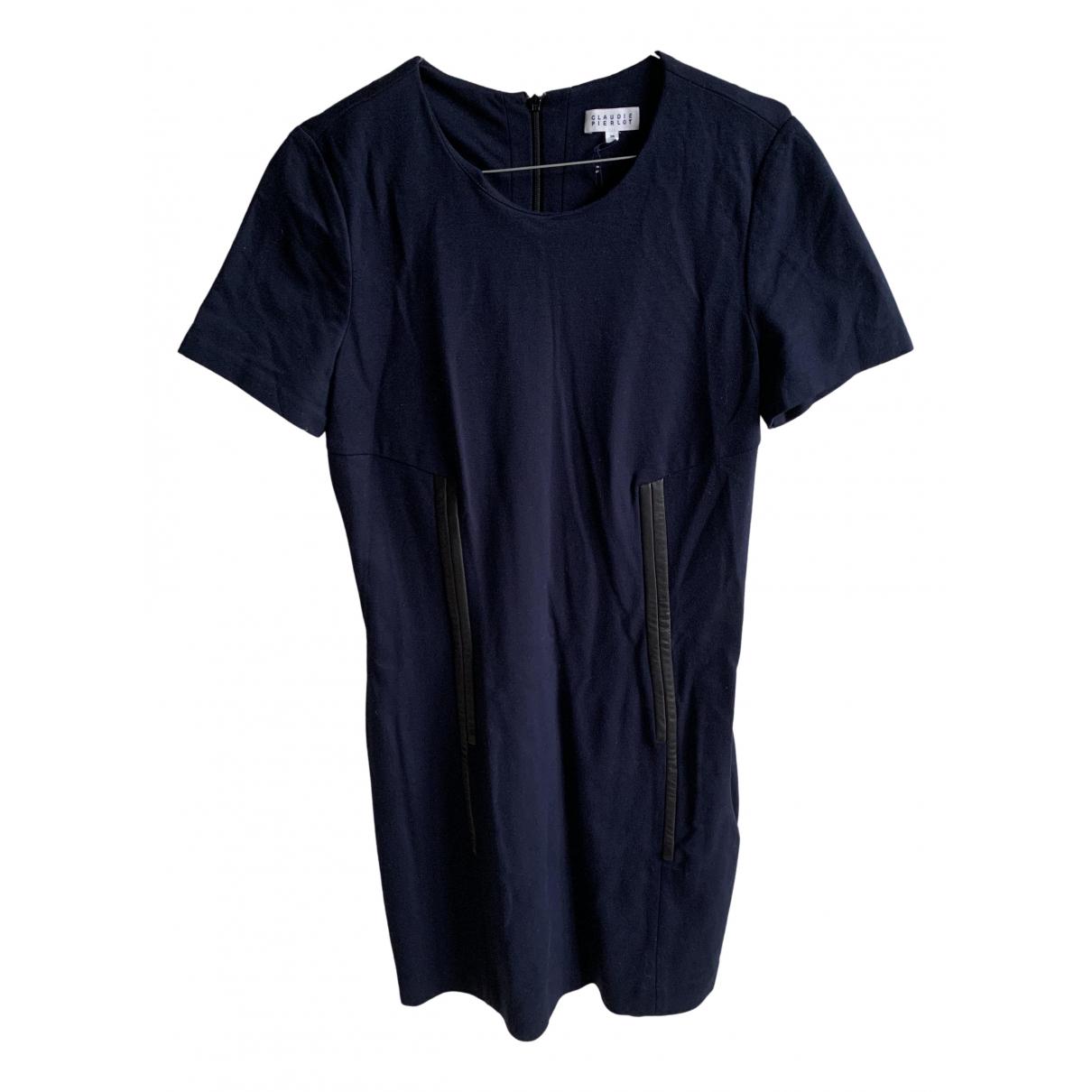 Claudie Pierlot N Blue dress for Women 38 FR