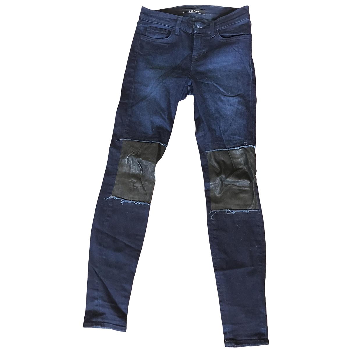 J Brand \N Jeans in  Marine Denim - Jeans