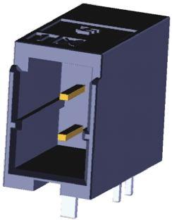 TE Connectivity , Dynamic 1000, 12 Way, 2 Row, Right Angle PCB Header