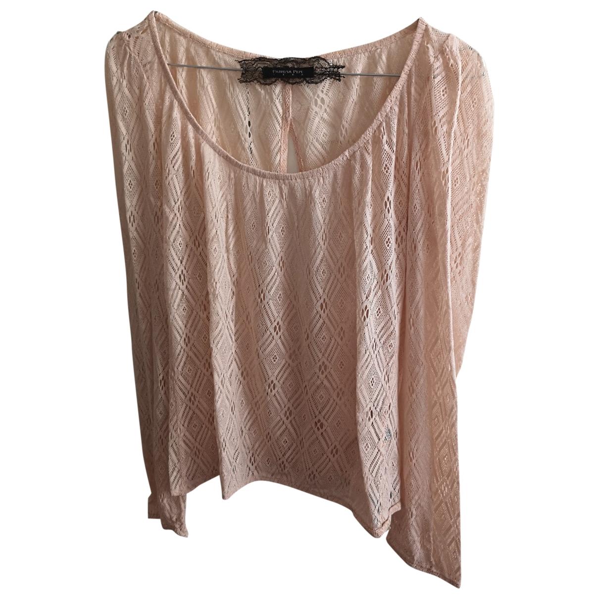 Patrizia Pepe \N Pink Lace  top for Women 40 IT