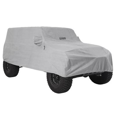 Smittybilt Full Climate Jeep Cover (Gray) - 845