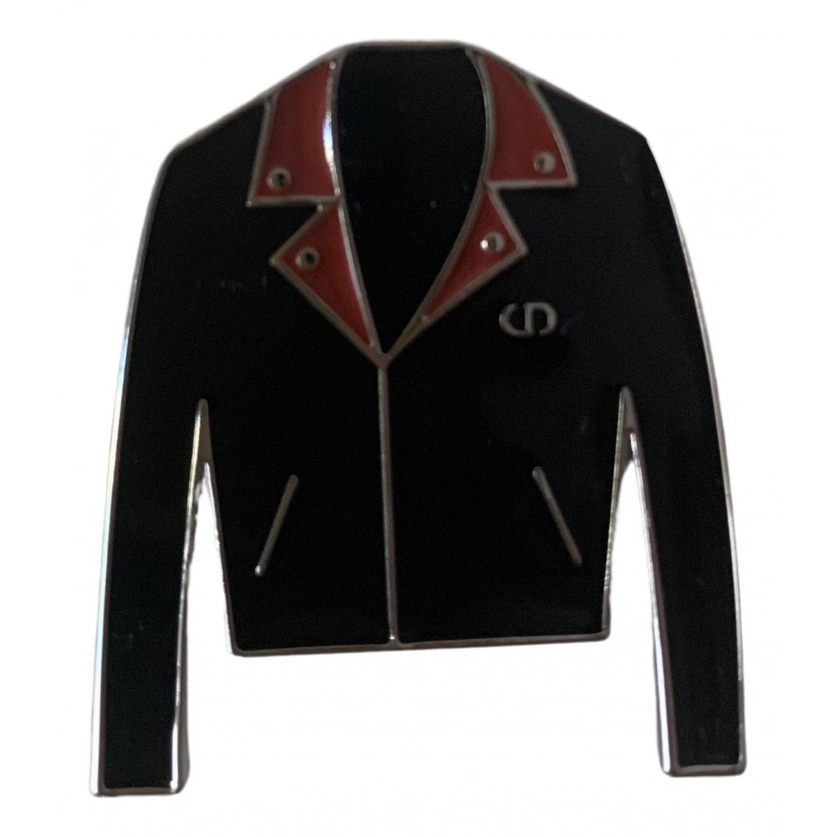 Christian Dior - Broche   pour femme en metal - noir