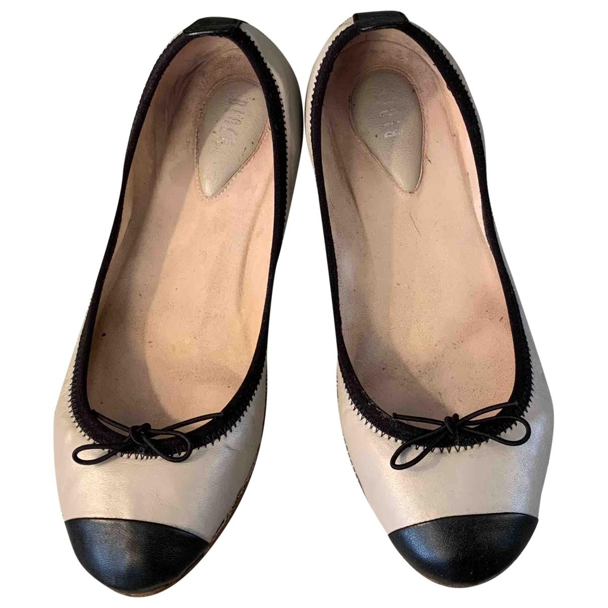 Bloch \N Ballerinas in Leder