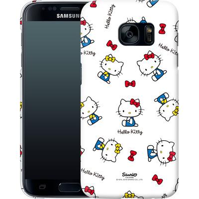 Samsung Galaxy S7 Smartphone Huelle - Hello Kitty and Mimmy Pattern von Hello Kitty
