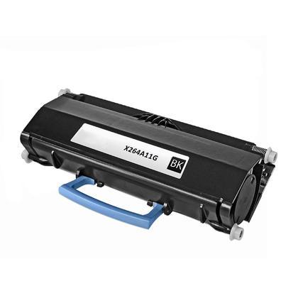 Compatible Lexmark X264A11G cartouche de toner noire - boite economique