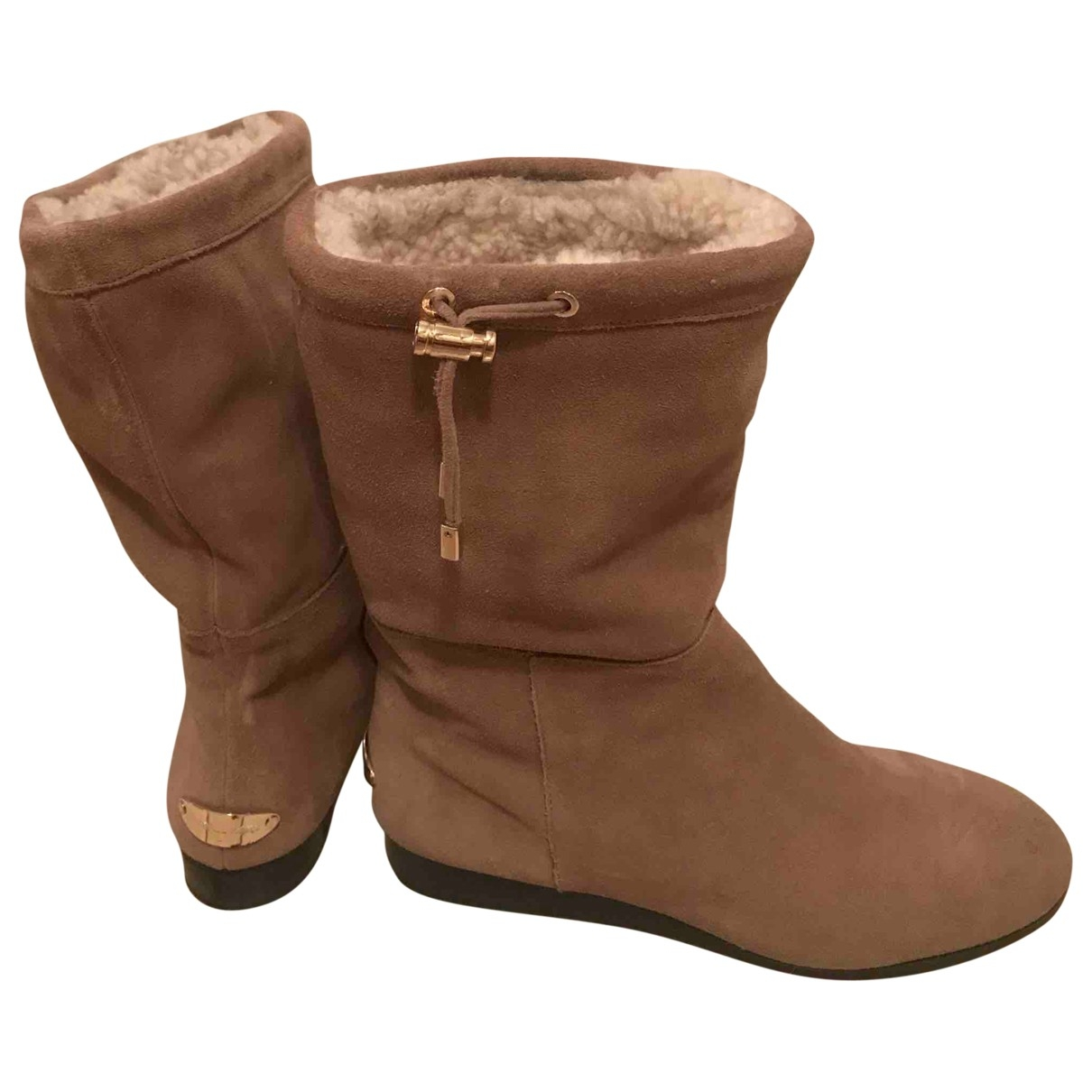 Michael Kors \N Beige Leather Boots for Women 39.5 EU