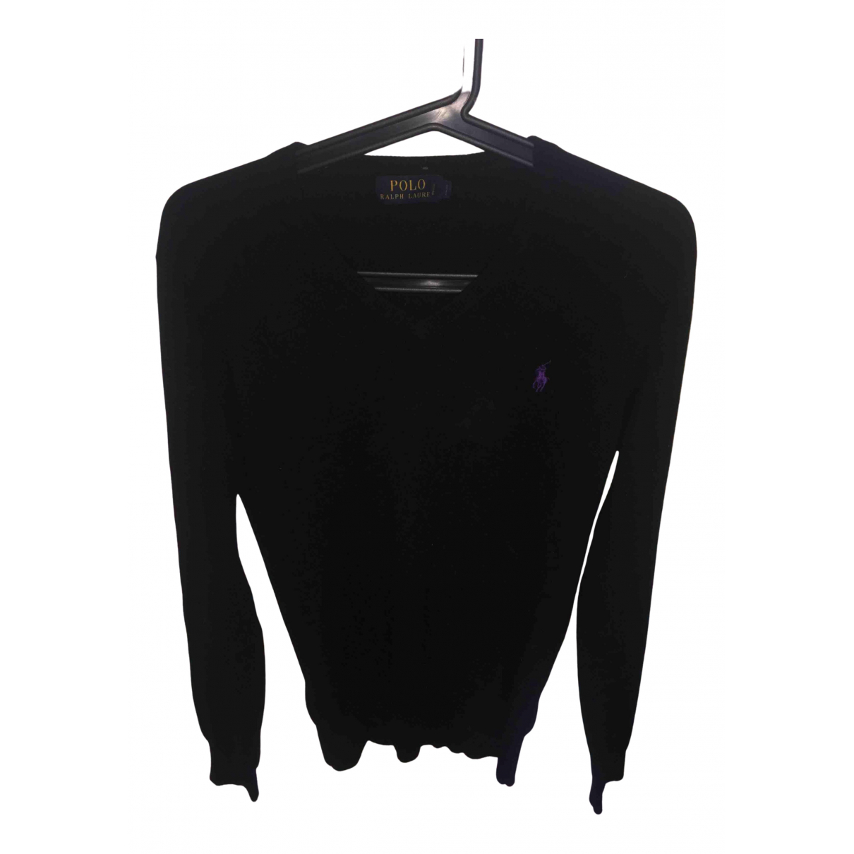 Polo Ralph Lauren - Pulls.Gilets.Sweats   pour homme en laine - noir