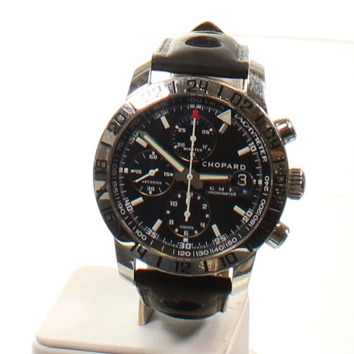 Chopard Mille Miglia  Uhr in  Schwarz Stahl