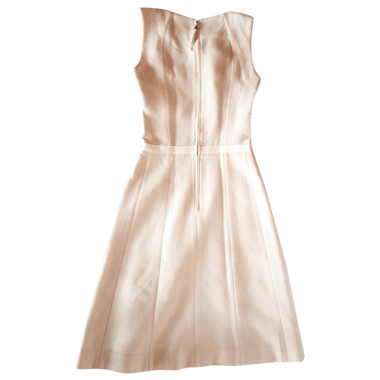 Louis Vuitton - Robe   pour femme en laine - beige