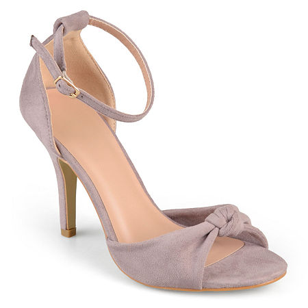 Journee Collection Womens Quincy Pumps Spike Heel, 9 Medium, Pink