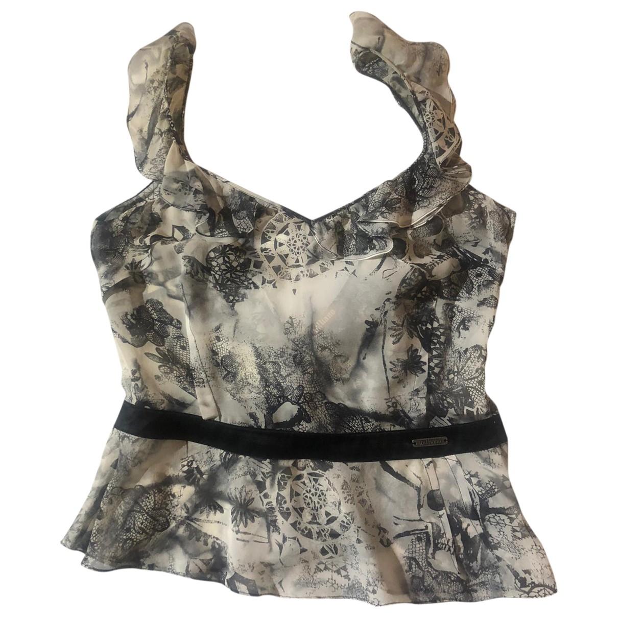 Galliano \N Multicolour Silk  top for Women 44 IT