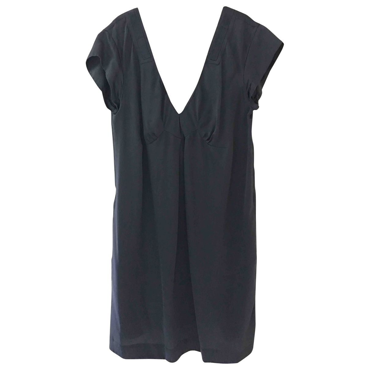 See By Chloé \N Anthracite Silk dress for Women 46 IT