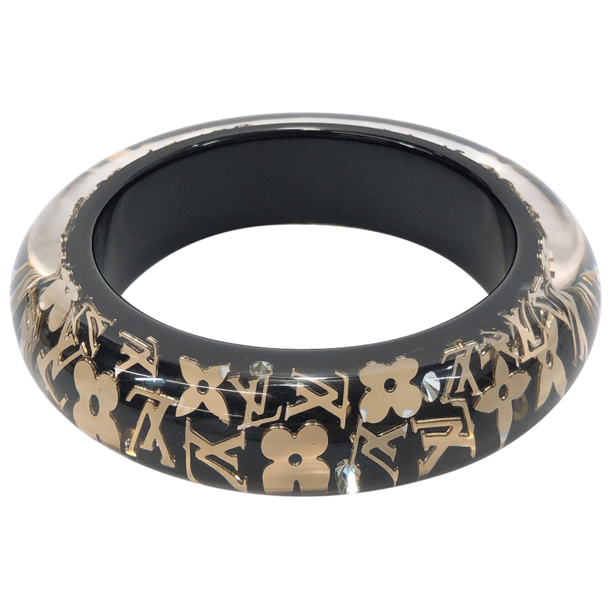 Louis Vuitton N Black bracelet for Women N