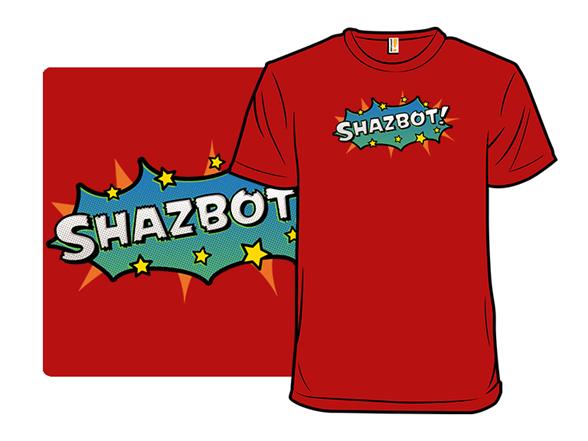 Sci-fi Slang - Shazbot T Shirt