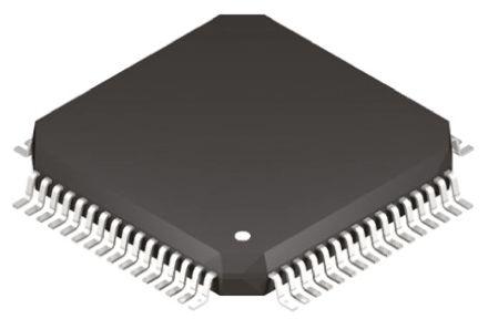Microchip PIC24FJ128GC006-I/PT, 16bit PIC Microcontroller, PIC24FJ, 32MHz, 128 kB Flash, 64-Pin TQFP (2)