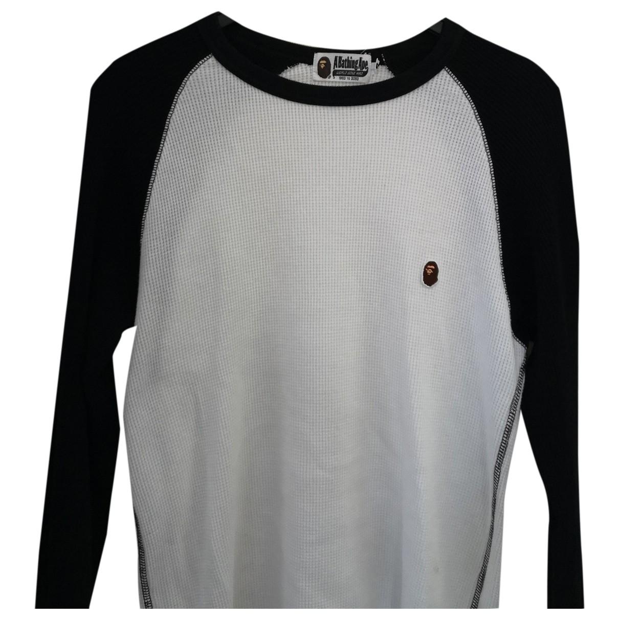 A Bathing Ape \N White Cotton Knitwear & Sweatshirts for Men M International