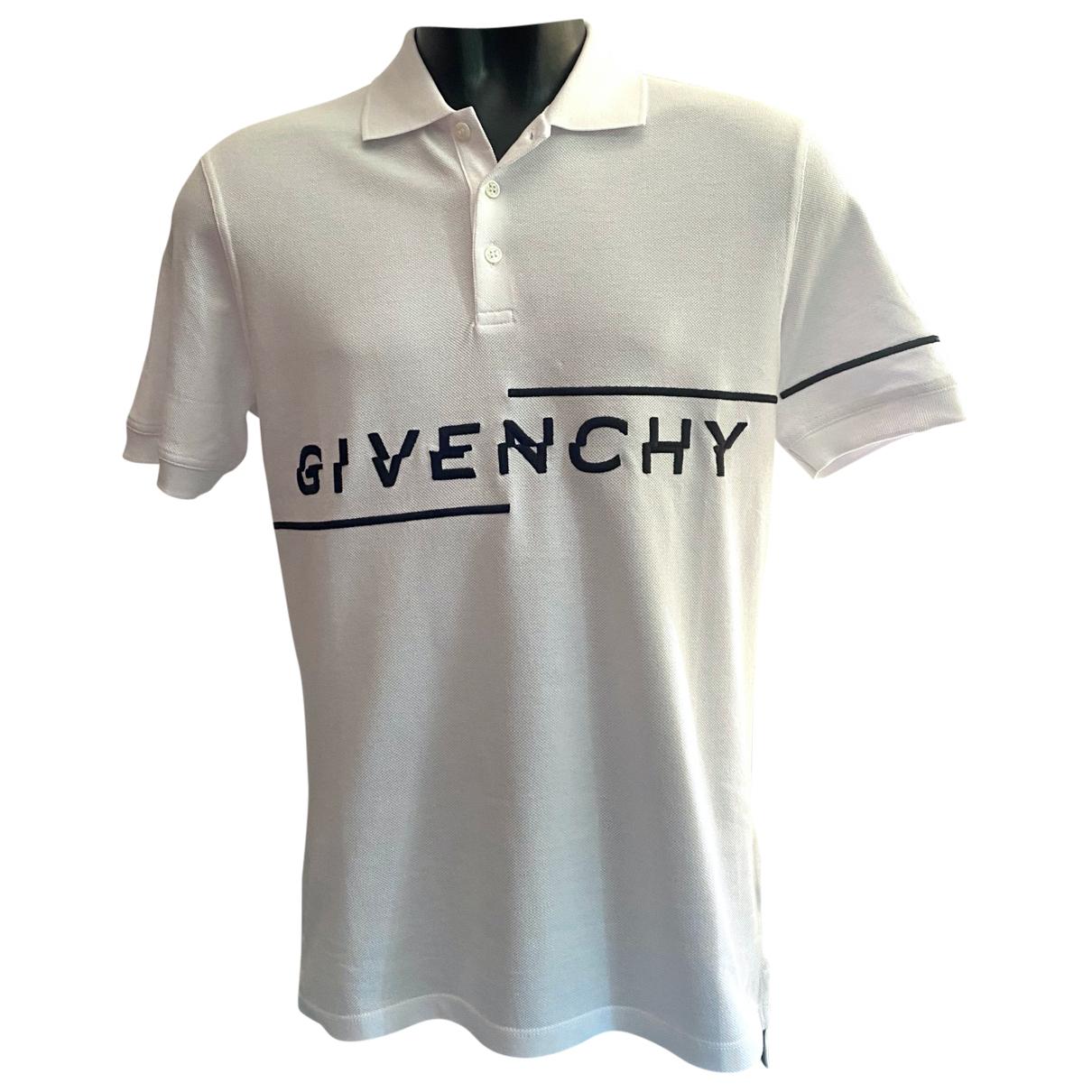 Polo en Algodon Blanco Givenchy