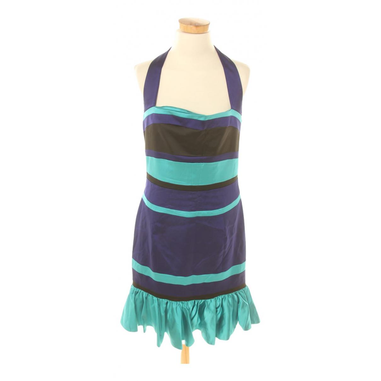 Karen Millen \N Kleid in  Blau Synthetik