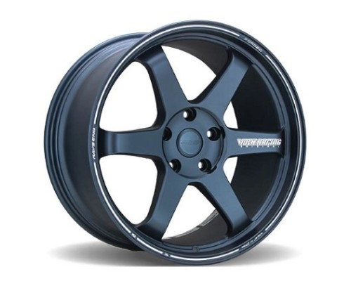 Volk Racing WVDUAV55LGB TE37 Ultra Large PCD Wheel 20x8.5 5x150 55mm Matte Blue Gunmetal
