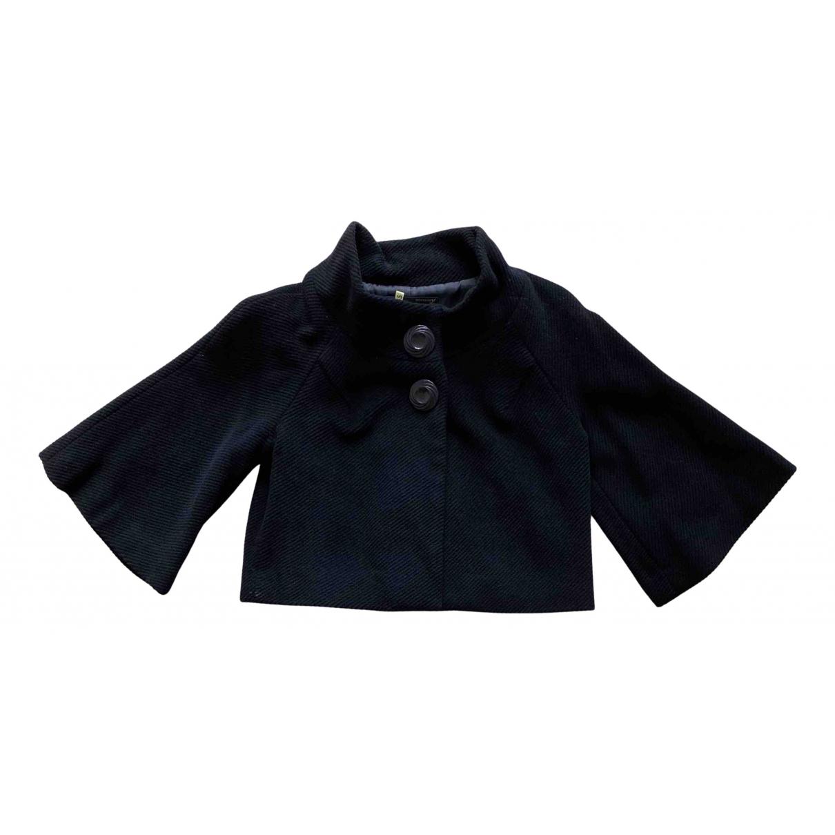 Moussy - Veste   pour femme en laine - noir