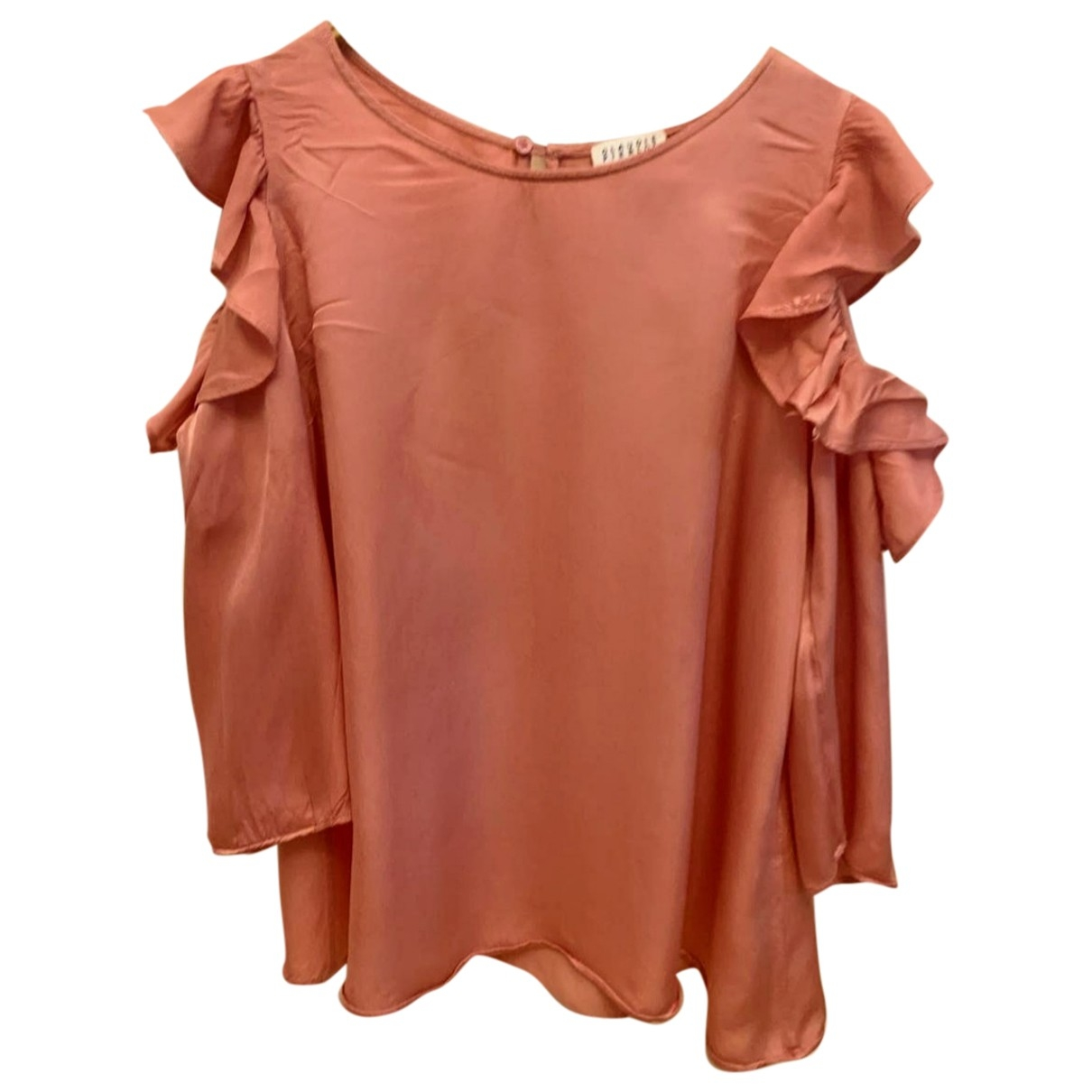 Claudie Pierlot \N Pink Silk  top for Women 36 FR