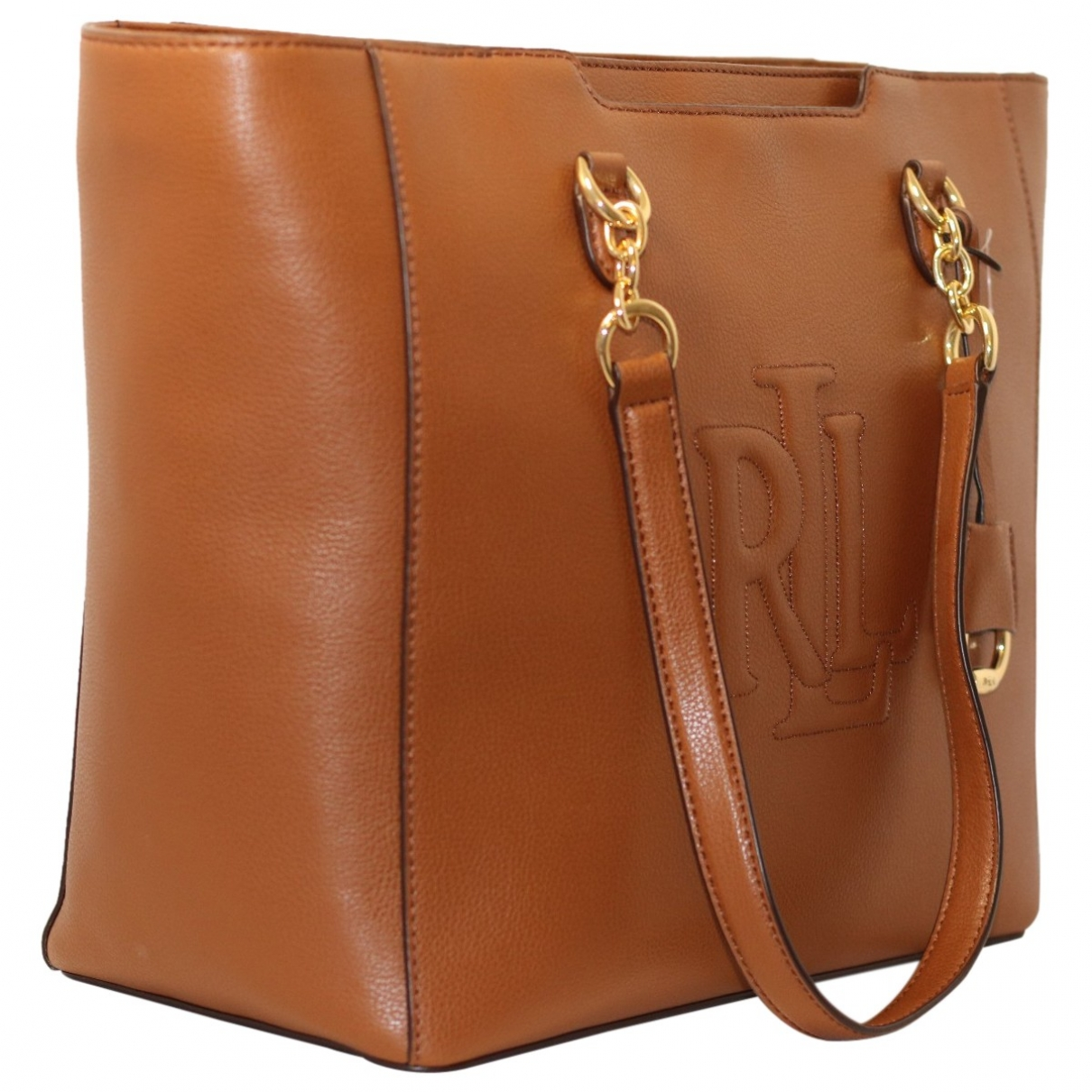 Lauren Ralph Lauren \N Camel Leather handbag for Women \N