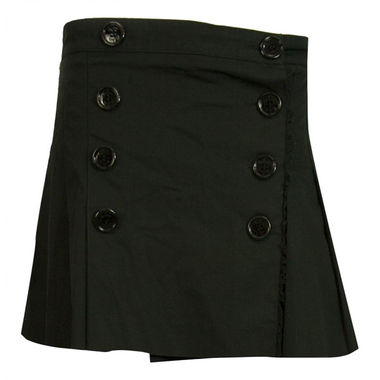 Burberry - Jupe   pour femme en coton - elasthane - noir