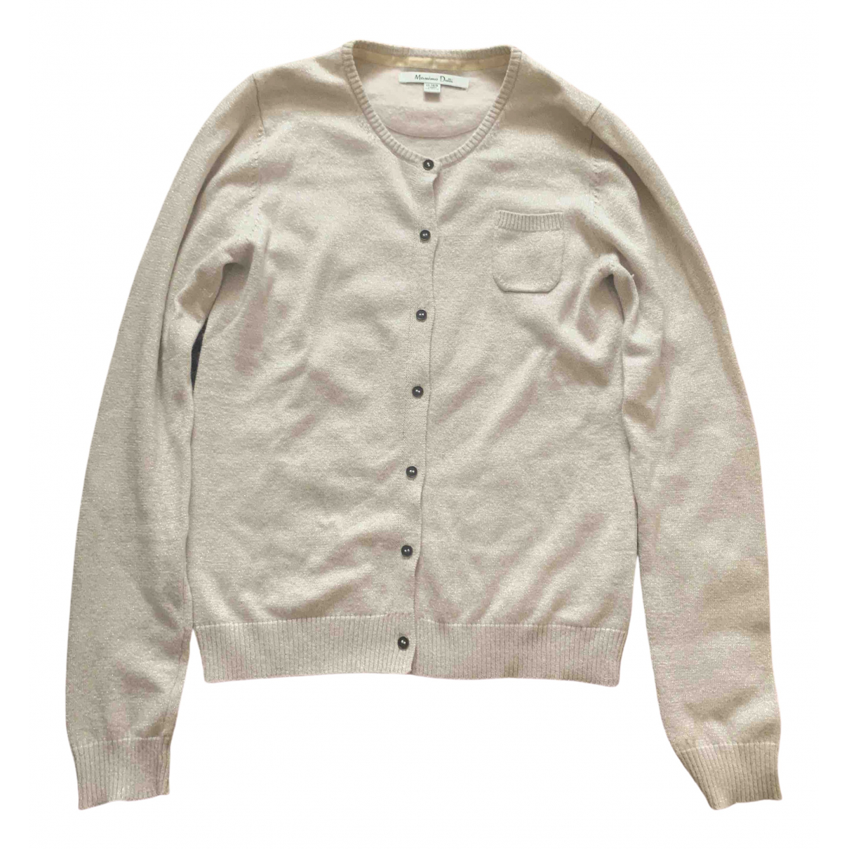 Massimo Dutti \N Gold Knitwear for Kids 14 years - S FR