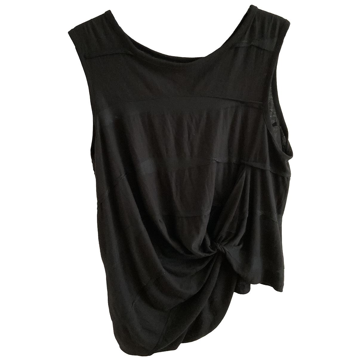 Yohji Yamamoto \N Black Cotton  top for Women 2 0-5
