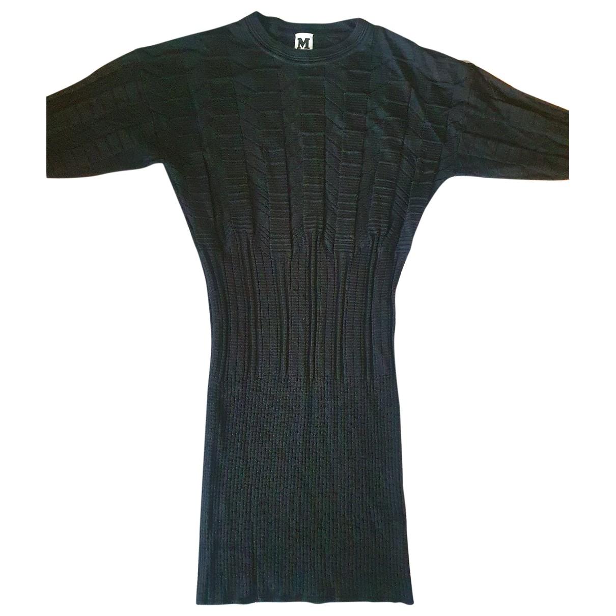 Missoni \N Kleid in  Schwarz Wolle