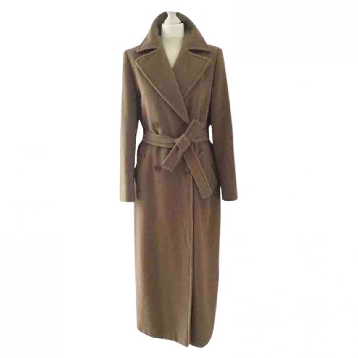 Max Mara \N Camel Wool coat for Women 42 IT