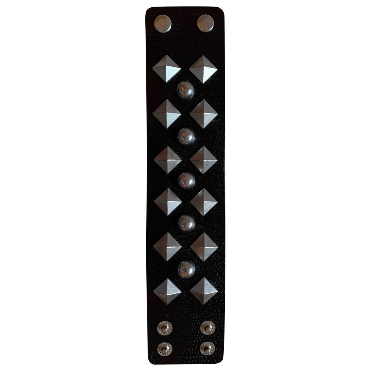 Jimmy Choo For H&m \N Armband in  Schwarz Leder