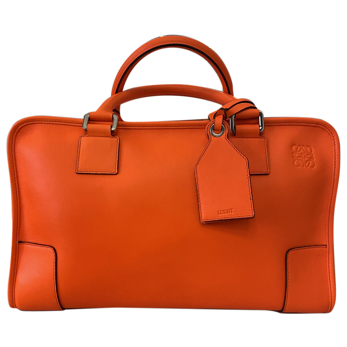 Loewe Amazona Orange Leather handbag for Women N
