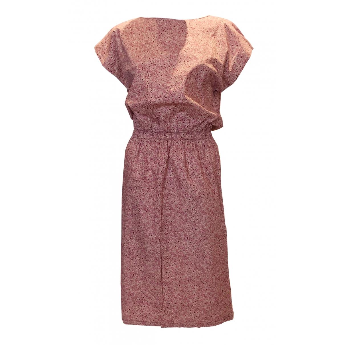 Liberty Of London \N Kleid in  Rosa Baumwolle