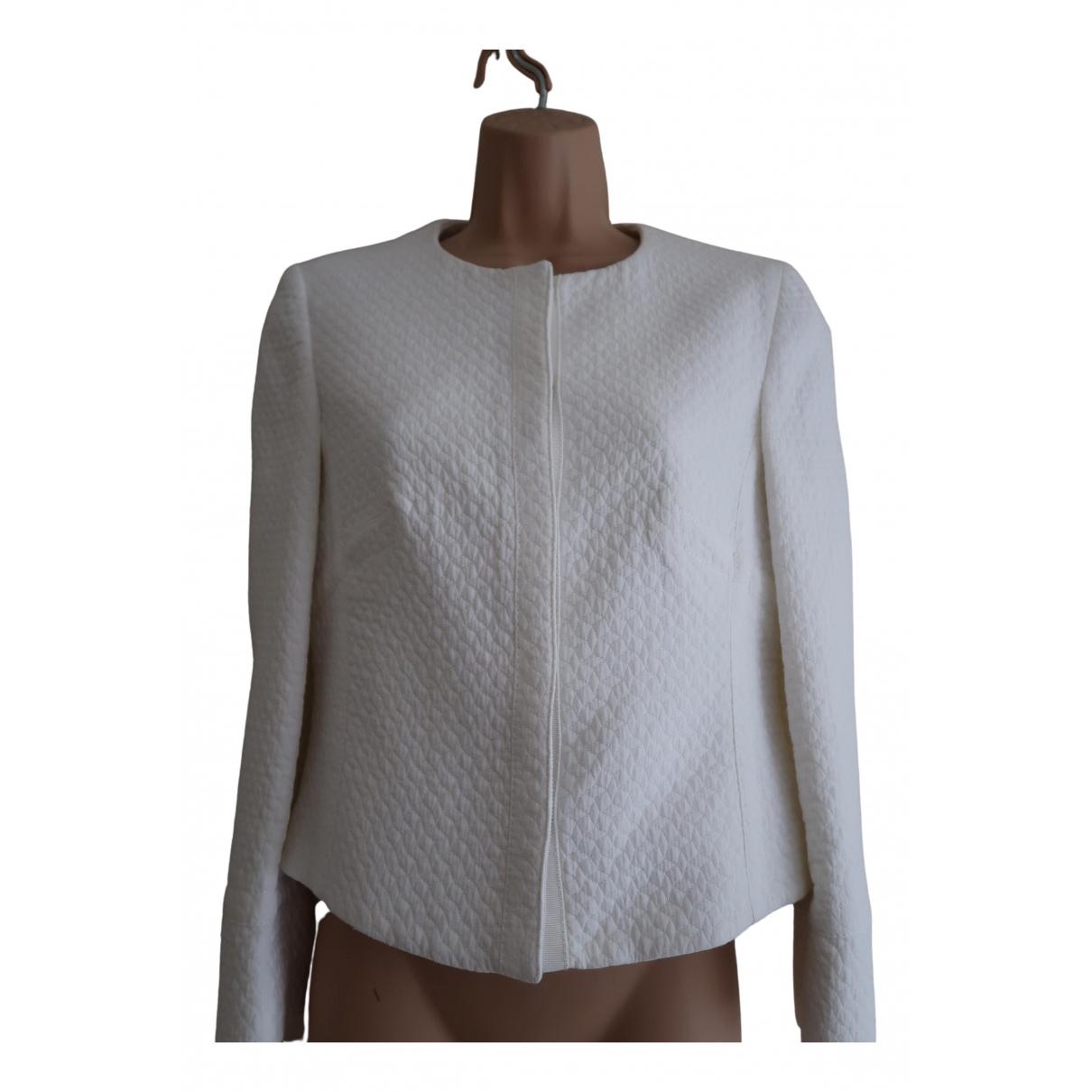 Karen Millen - Veste   pour femme en coton - blanc