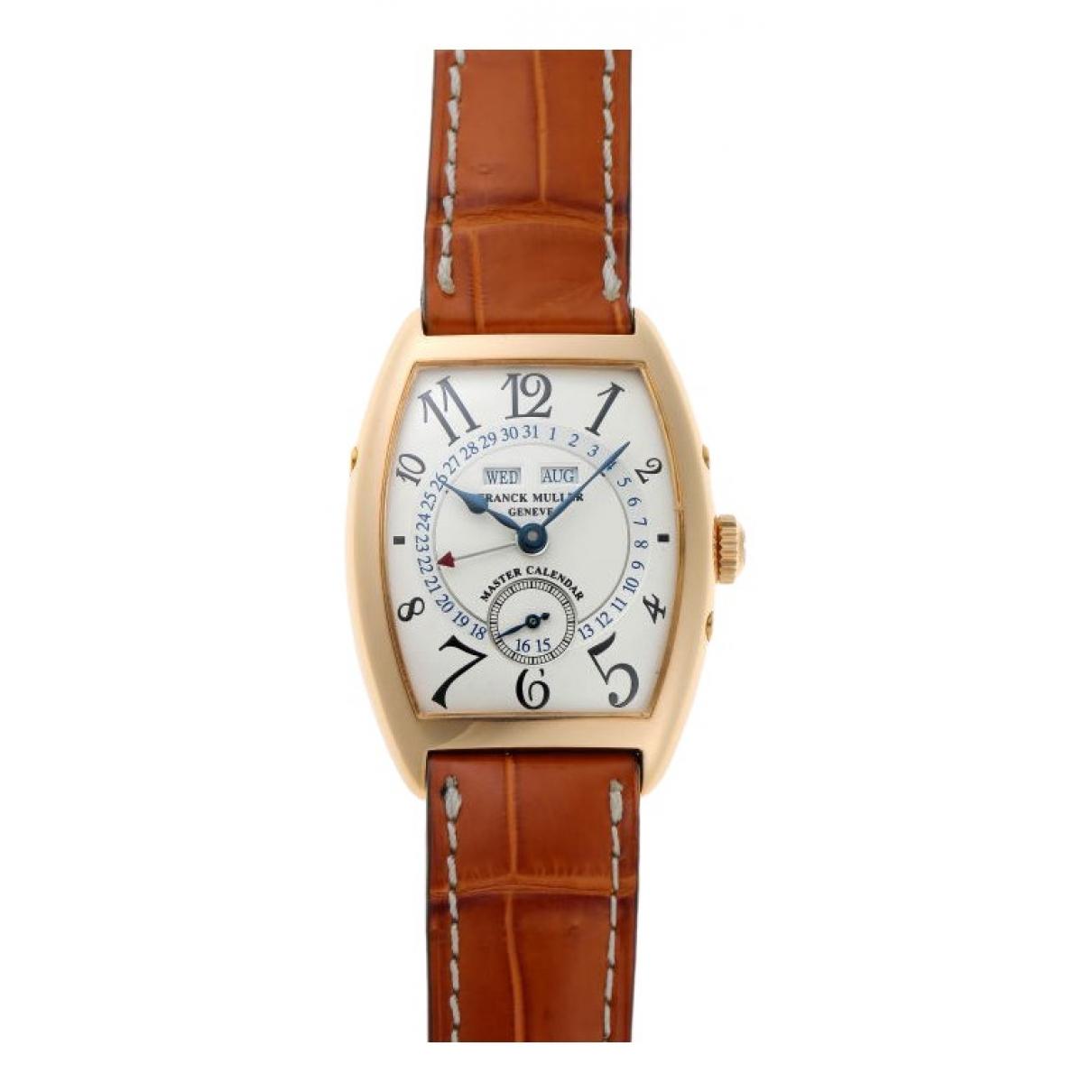 Reloj de Oro amarillo Franck Muller