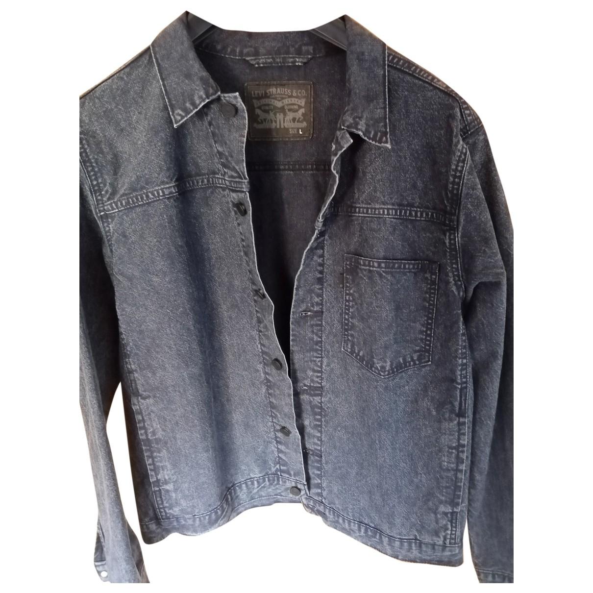 Levis Vintage Clothing - Vestes.Blousons   pour homme en coton - noir