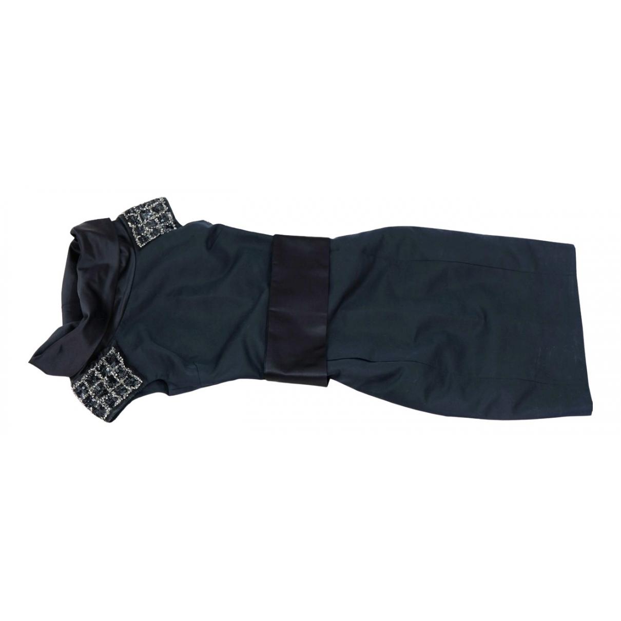 Dsquared2 \N Kleid in  Schwarz Baumwolle