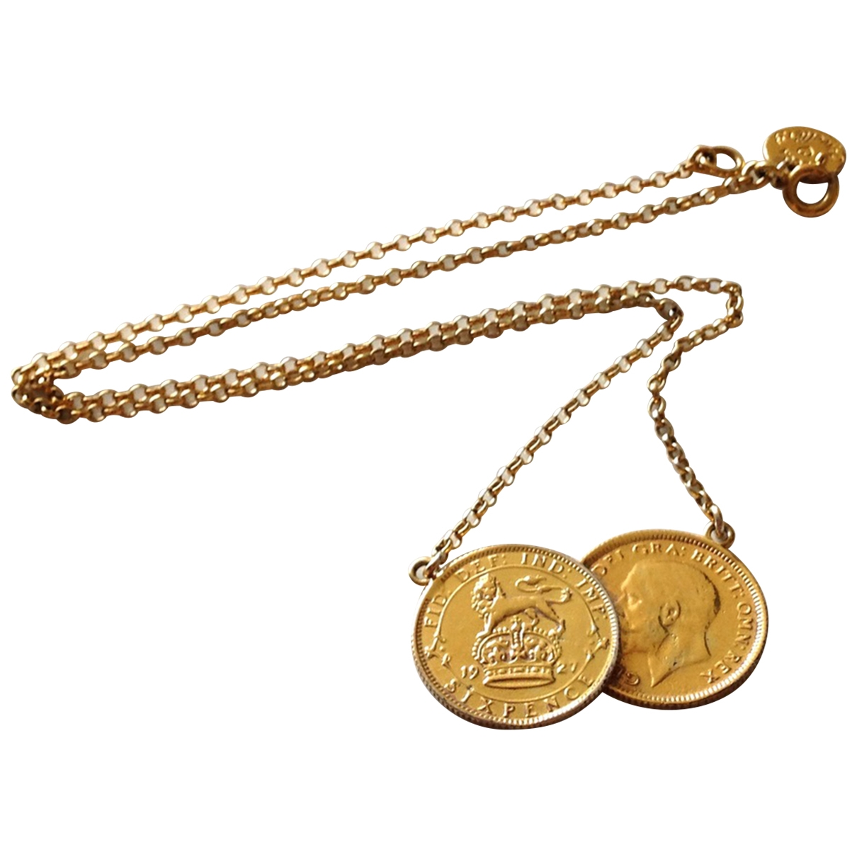 Becca Jewellery \N Kette in  Gold Silber