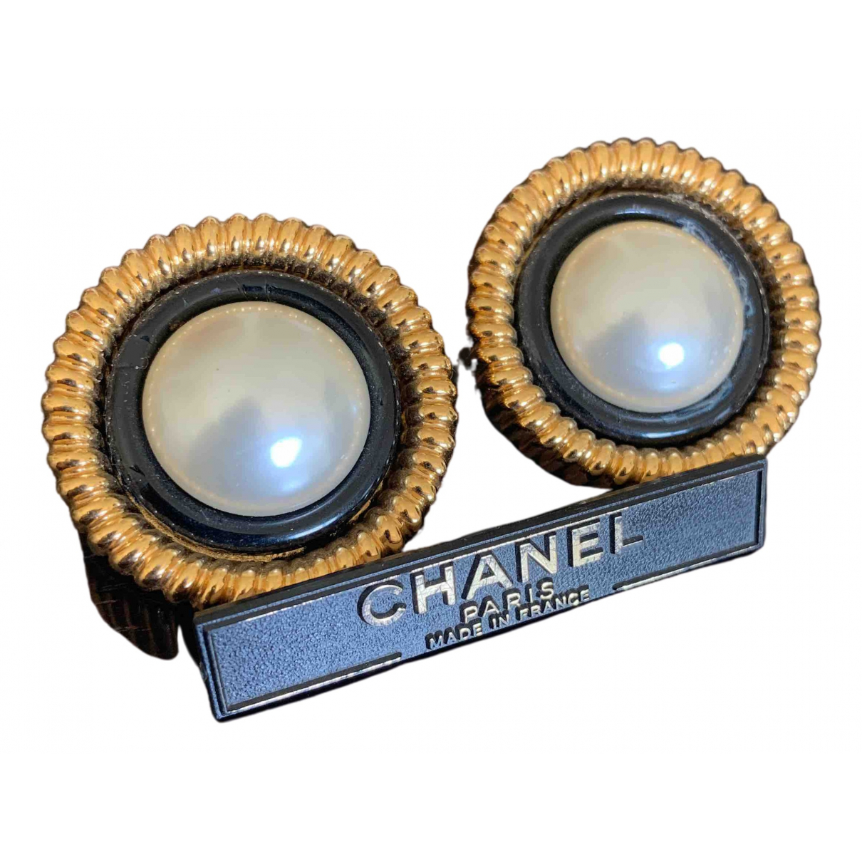 Chanel \N OhrRing in Metall