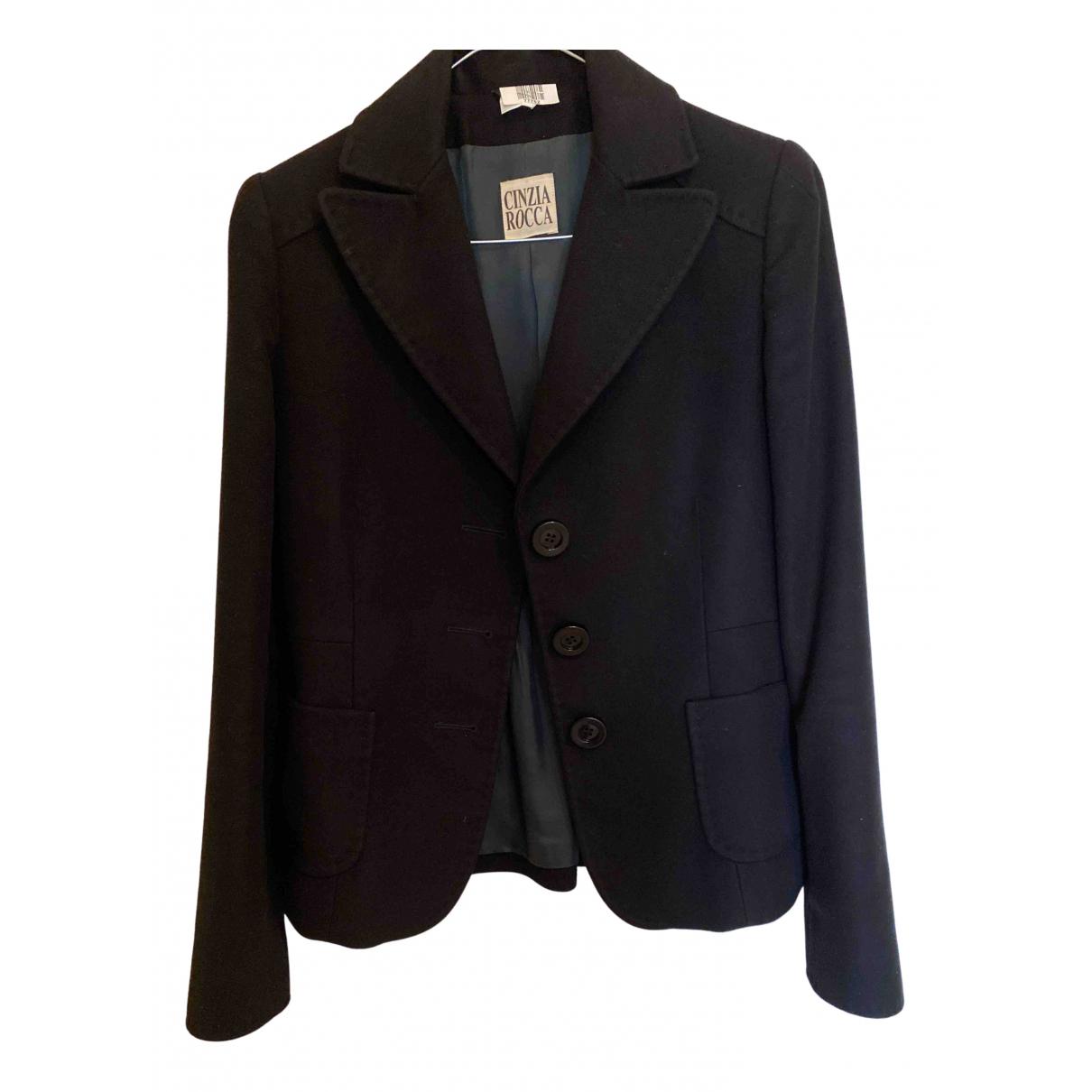 Cinzia Rocca N Black jacket for Women 42 IT