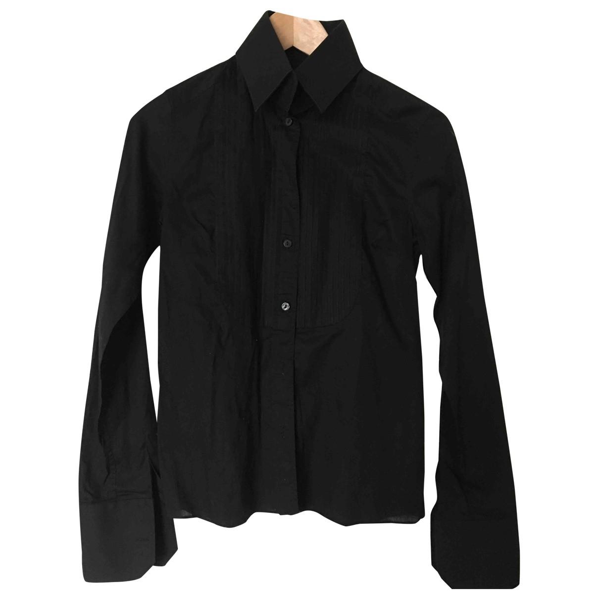Karl Lagerfeld Pour H&m \N Top in  Schwarz Baumwolle
